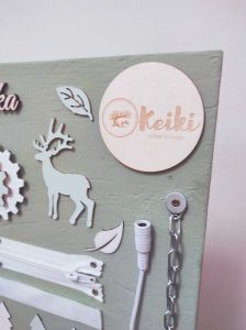 Keiki activity board forest lesna M 16